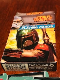 Star Wars Boba Fett playing cards! Great gift idea!