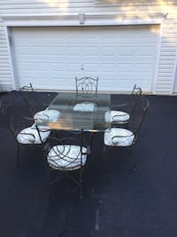 black and white patio table and chairs 20 km