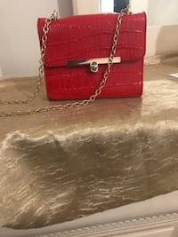 red leather 2-way handbag Silver Spring, 20906