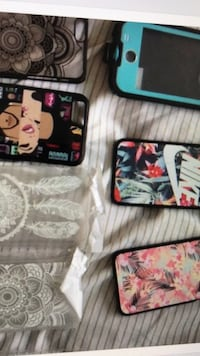 assorted iPhone cases