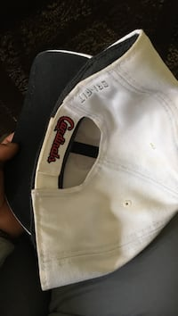 white Arizona Cardinals fitted cap Robards, 42452