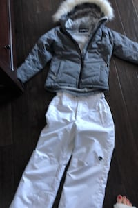 Girls size 10 Sunice ski coat and Descente snow pants  Hamilton, L9G 0G5