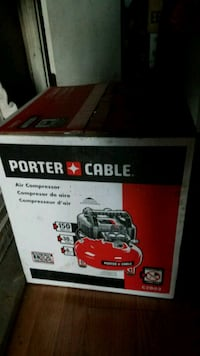 red Porter-Cable C2002 air compressor box Bessemer, 35022