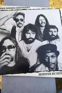 "The Doobie Brothers ""minute by minute"" vinyl album La Plata, 20646"