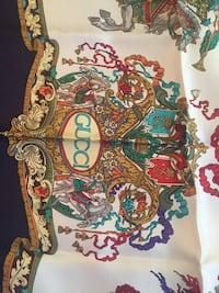Authentic Gucci scarfs made in Italy never used 100 percent silk  Arlington, 22204