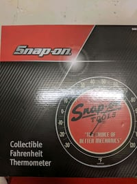 Snap On Collectable Thermometer