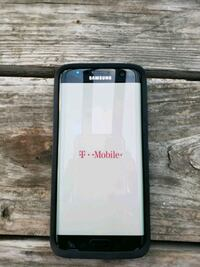black Samsung Galaxy android smartphone Brownsville