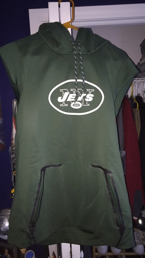 huge selection of 57e42 fd43a Nike NY Jets NFL Licensed Sleeveless Hoodie