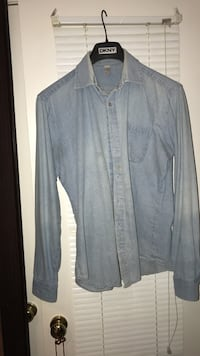 American Apparel. Large denim shirt