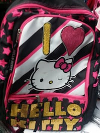 black and pink Hello Kitty backpack MISSISSAUGA