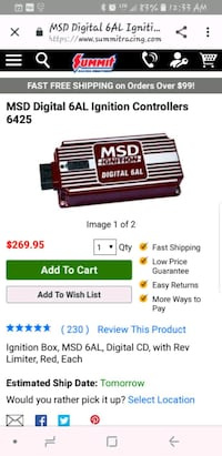 Msd box for mustang