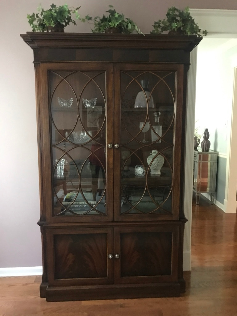 Used Ethan Allen Roth Cabinet For Sale In Denville   Letgo