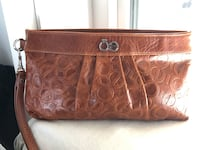 Authentic Leather Chloe Clutch Calgary, T3A