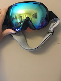 Bolle color lens snowboarding goggles