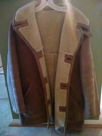 Saks Fifth Avenue Leather Jacket size 40 Mount Airy, 21771