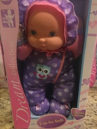Brand New Dream collection I'm so soft doll $5.00 each. 6 dolls available.