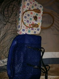 blue and white floral backpack Anniston, 36206