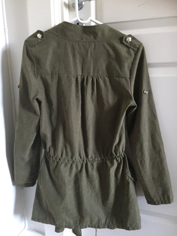 Trenchcoat fra ESWALLOW. Str. M 6aade833-9fe5-4825-a8f8-9b3608962189