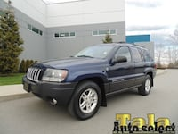 2004 Jeep Grand Cherokee 4WD 6CYL 2WD OPTION AUTOMATIC AIR 192K NEW WESTMINSTER