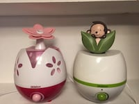 Adorable fun humidifiers for kids - money and flower themes. TORONTO