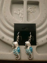 Seahorse Earrings 169 mi