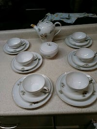 Fukagawa Aritas tea set 904 North Attleborough, 02760