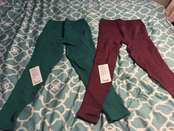 Lululemon zone in tights size 12 $40 each or two for $75
