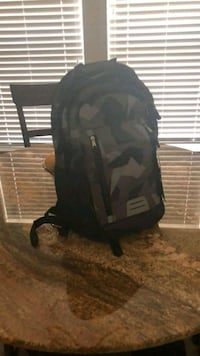 black and gray camouflage backpack Manassas, 20111