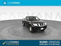 2012 Nissan Frontier King Cab pickup SV Pickup 2D 6 ft Black <br Petersburg