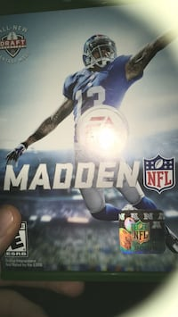 Xbox One Madden NFL 16 game case Westminster, 80003
