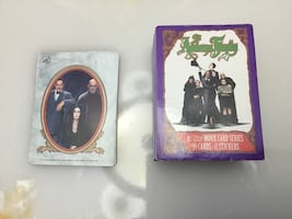 """1991 """"The Addams Family"""" card & sticker set, in mint condition."""
