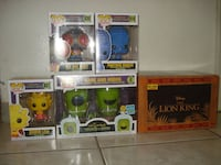 BRAND NEW Simpson's & Lion King Funko Pops!