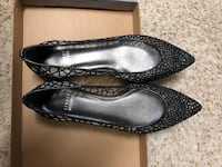 pair of black leather pointed-toe flats Redwood City, 94063