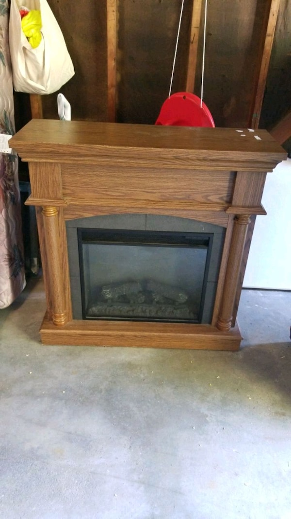 Used Twin Star Electric Fireplace For Sale In Auburn Letgo