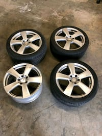 Mercedes E350 Class tires and rims. 245/40 R 18in Lansdowne, 21227