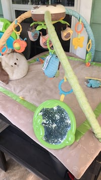 baby's green and blue activity gym Waco, 76708