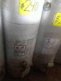two gray water heaters Los Angeles, 90003