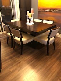 brown wooden dining table set Vaughan, L4K