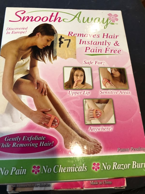 Smooth Away pain free hair removal kits. Sell for over 9. A piece  d795b93b-bba3-4325-8af0-80f6360f9416