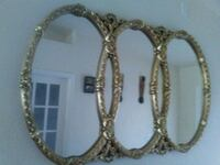 Gold plated ornate very large wall mirror Cape Coral, 33993