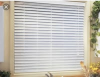 Faux wood blinds - brand new