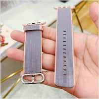 Pink and Gray Strap for Apple Watch 42, for the 1st Gen Toronto, M4B 2T2