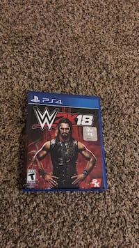 W2K18 PS4 game case