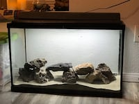 30 gallon aquarium fish tank setup  Desert Hot Springs, 92241