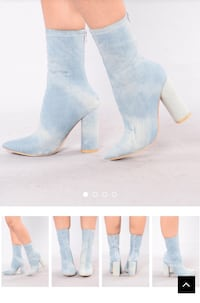 Denim ankle boots  Airdrie