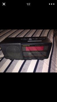 black transistor radio / alarm clock Germantown, 20874