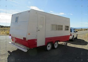 1978 Vintage Camper Classic Travel Trailer Clear title in hand.
