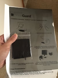 """12.1 """" screen protector for lab top Clifton Park, 12065"""