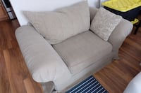 gray fabric 2-seat sofa Alexandria, 22309