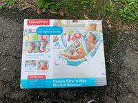 Fisher-Price Deluxe Kick 'n Play Musical Bouncer Springfield, 22151